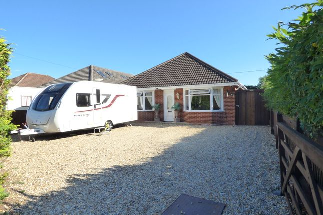 Thumbnail Detached bungalow for sale in Salisbury Road, Totton