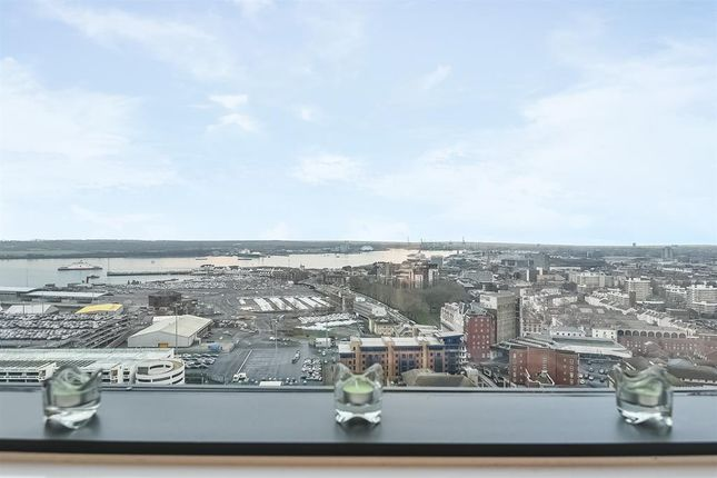 Thumbnail Flat to rent in The Moresby Tower, Admirals Quay, Ocean Way, Ocean Village, Southampton