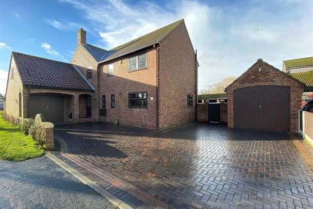 4 bed detached house for sale in Back Lane, Osgodby, Selby YO8