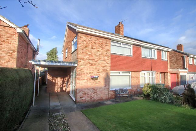 3 bed semi-detached house for sale in Woodford Green, Eaglescliffe, Stockton-On-Tees TS16