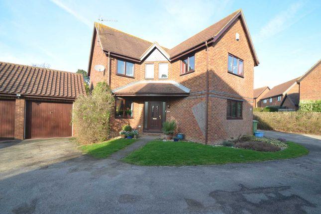 Thumbnail Detached house for sale in Aldrich Drive, Willen, Milton Keynes