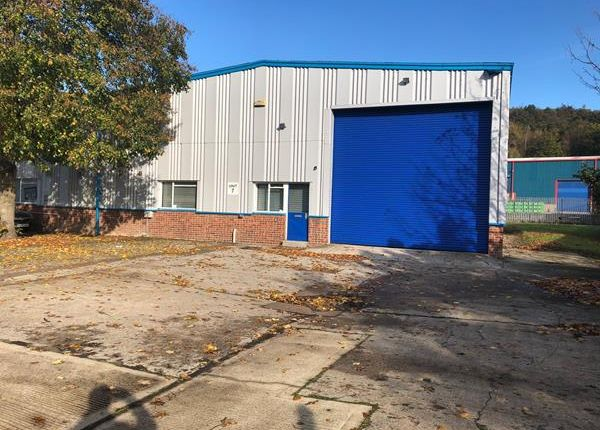 Thumbnail Light industrial to let in Unit 7, Phase II, Carrwood Industrial Estate, Chesterfield