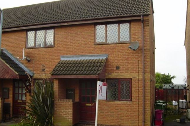 Thumbnail Semi-detached house to rent in Mellish Road, Rugby