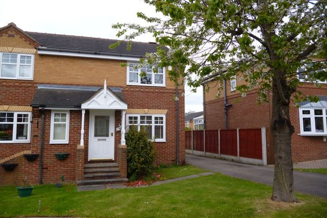 2 bed semi-detached house to rent in Bittern Rise, Morley, Leeds LS27