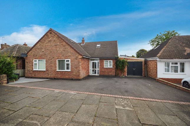 Thumbnail Detached house for sale in Alcester Drive, Evington, Leicester