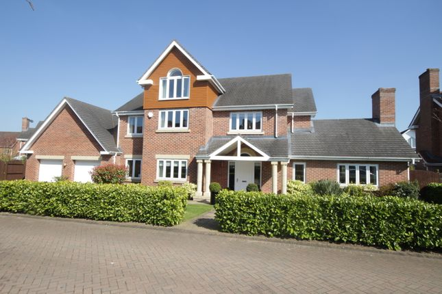 Thumbnail Detached house for sale in Hampstead Drive, Weston, Crewe