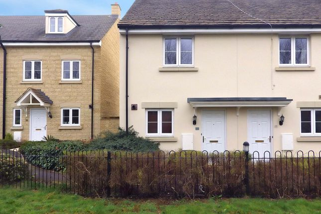 Thumbnail Terraced house to rent in Park View Lane, Witney, Oxfordshire