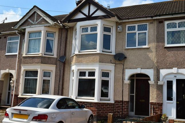 Thumbnail Terraced house to rent in Redesdale Avenue, Coundon, Coventry