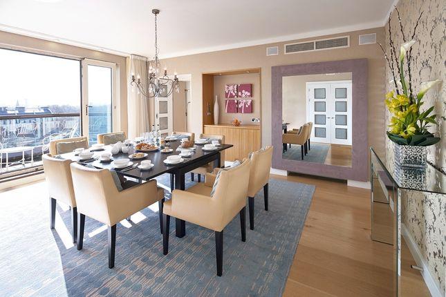 Thumbnail Flat to rent in Ashburn Place, South Kensington