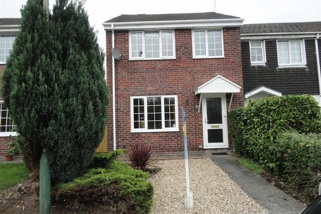 Thumbnail End terrace house to rent in Penclawdd, Mornington Meadows, Caerphilly