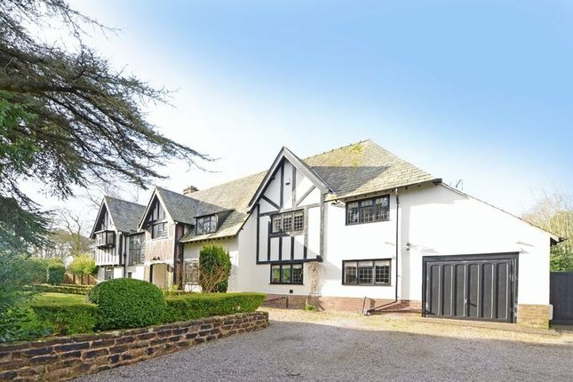 Thumbnail Detached house for sale in Tower Road North, Heswall, Wirral