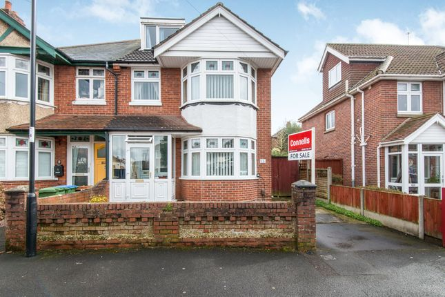 Thumbnail Semi-detached house for sale in Eastbourne Avenue, Shirley, Southampton