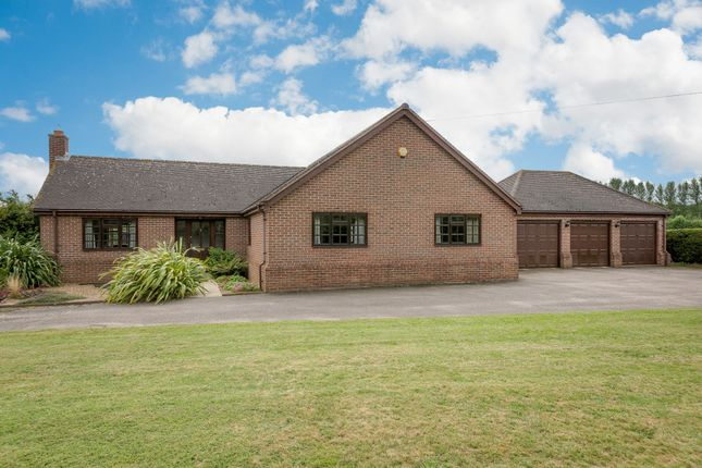 Thumbnail Bungalow for sale in Gamlingay Road, Waresley, Sandy, Cambridgeshire