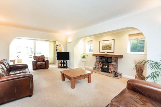 Living Room of Brookledge Lane, Adlington, Macclesfield, Cheshire SK10