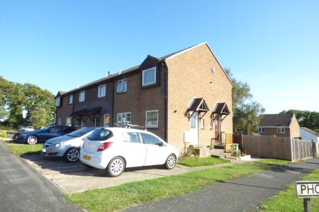 Thumbnail 2 bed terraced house to rent in Phoenix Close, Bursledon