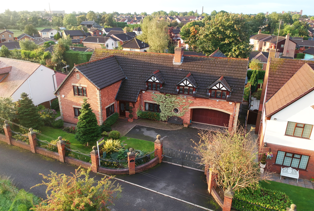 Thumbnail Detached house for sale in The Woodlands, Wood End, Leigh