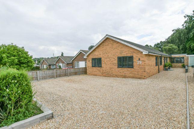Thumbnail Detached bungalow for sale in Maltings Close, Moulton, Newmarket