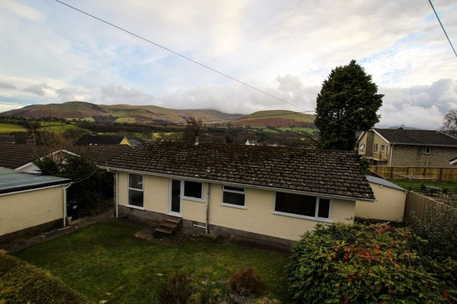 Thumbnail Detached bungalow to rent in Libanus, Brecon