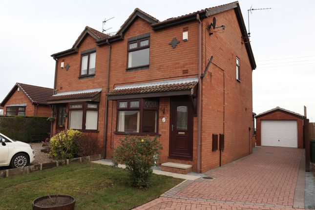 2 bed semi-detached house to rent in Ellis Close, Preston, Hull HU12