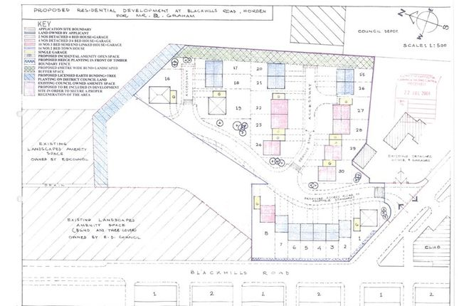 Thumbnail Land for sale in Blackhills Road, Horden, Peterlee