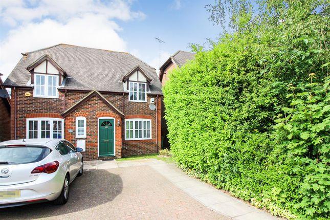 Thumbnail Semi-detached house for sale in Phoebes Orchard, Stoke Hammond, Milton Keynes
