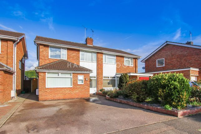 Thumbnail Semi-detached house for sale in Newcastle Avenue, Colchester