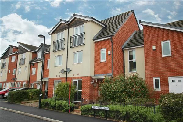 Thumbnail Town house for sale in Brentleigh Way, Hanley, Stoke-On-Trent