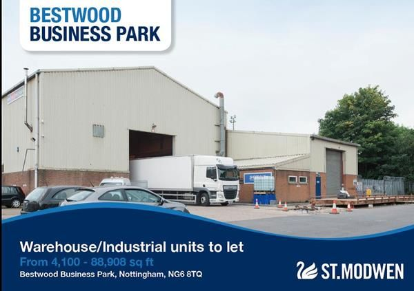 Thumbnail Light industrial to let in Unit 5A, Bestwood Business Park, Bestwood Village, Nottingham