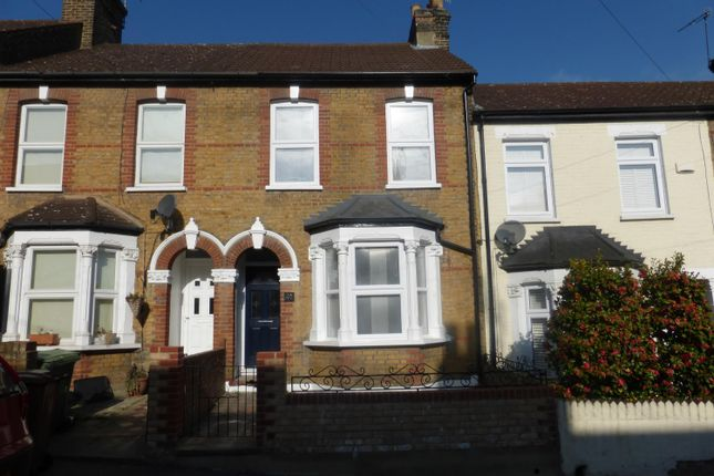 Thumbnail Terraced house to rent in Stanmore Road, Belvedere, Kent