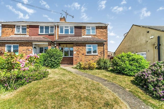 Thumbnail Semi-detached house to rent in Winston Road, Rochester