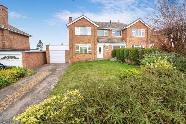 Thumbnail Semi-detached house for sale in Shelley Drive, Higham Ferrers, Rushden