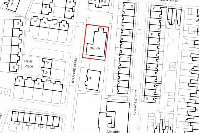 Thumbnail Land for sale in Stafford Street, Crewe, Cheshire