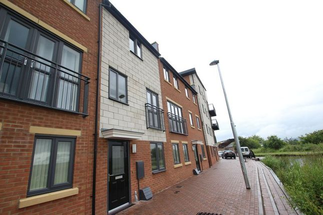 Thumbnail Town house to rent in Quay Side, Caldon Quay, Stoke-On-Trent