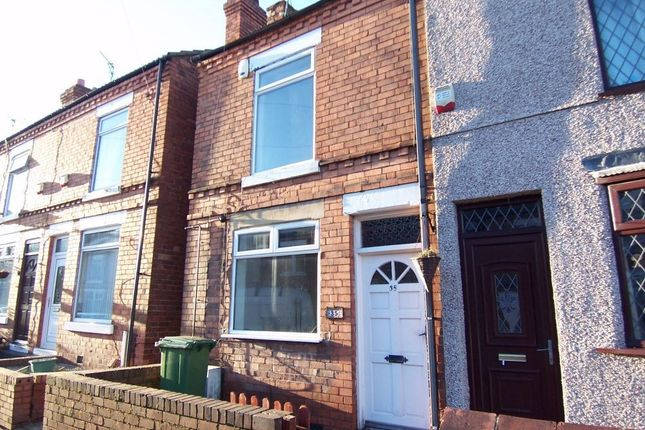 Thumbnail End terrace house to rent in Mount Street, Mansfield