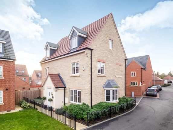 Thumbnail Detached house for sale in Dexters Grove, Hucknall, Nottingham, Nottinghamshire
