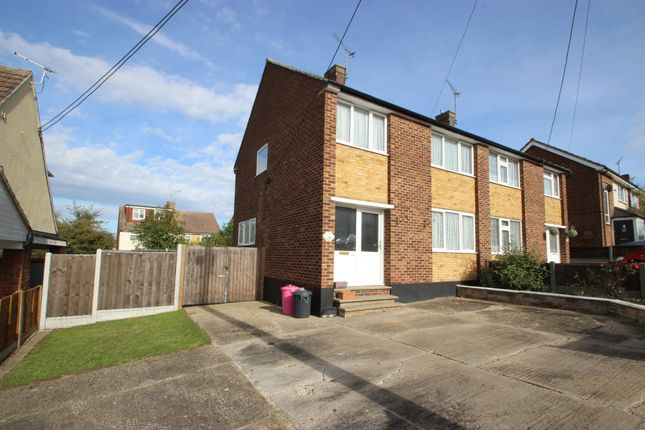 Thumbnail Semi-detached house for sale in Kimberley Road, Benfleet