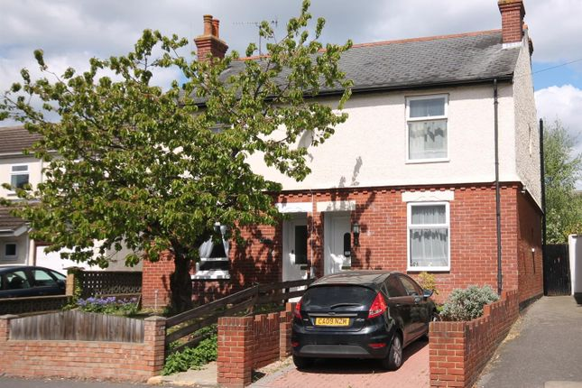 Thumbnail Semi-detached house for sale in Cove Road, Farnborough