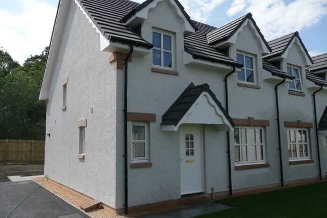 Thumbnail Semi-detached house to rent in Strathpeffer Road, Dingwall