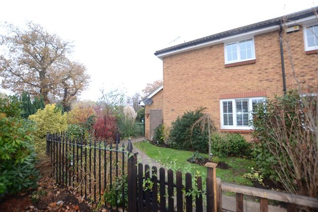 Thumbnail Semi-detached house for sale in The Glade, Mytchett, Surrey