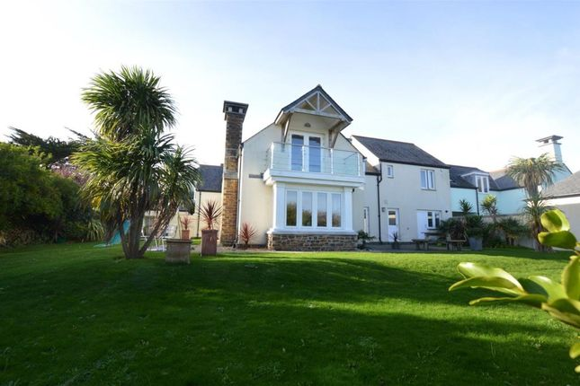 Thumbnail Link-detached house for sale in Trinity Watch, Higher Trewidden Road, St. Ives, Cornwall