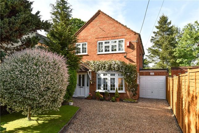 Thumbnail Detached house for sale in Darby Green Road, Blackwater, Surrey