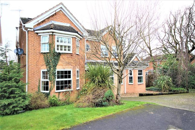 Thumbnail Detached house for sale in Kendray Close, Belper