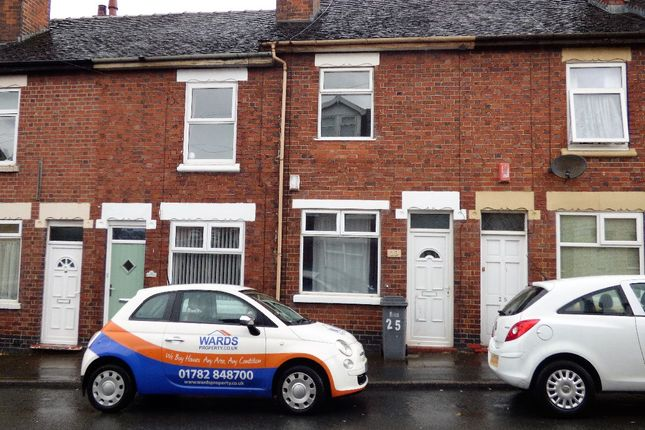Thumbnail Terraced house to rent in Hollings Street, Stoke-On-Trent
