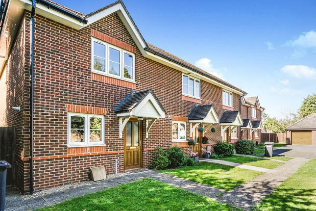 Thumbnail End terrace house to rent in Fallowmead, Stag Close, Fair Oak, Eastleigh