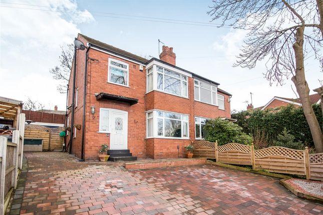 Thumbnail Semi-detached house for sale in Carrholm Crescent, Chapel Allerton, Leeds