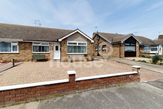 Thumbnail Semi-detached bungalow for sale in Rosemary Avenue, Minster On Sea, Sheerness