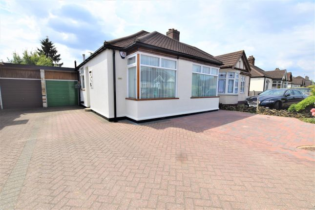 Thumbnail Semi-detached bungalow for sale in New North Road, Hainault
