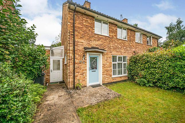 Thumbnail Semi-detached house for sale in Little Dell, Welwyn Garden City