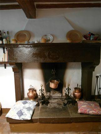 Il Pratino - The Stone Fireplace