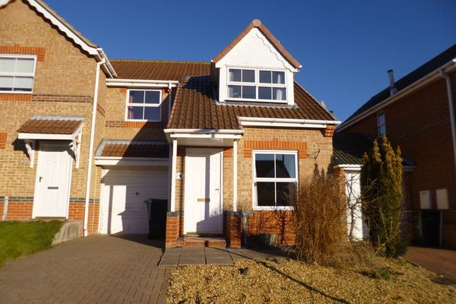 Thumbnail Link-detached house for sale in Milburn Way, Howden Le Wear, Crook